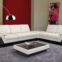диван в интерьере гостиной фото 44