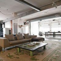 дизайн гостиной в стиле лофт фото 42