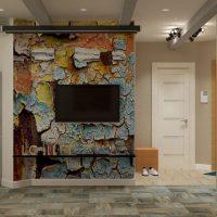 дизайн гостиной в стиле лофт фото 56
