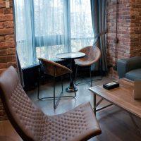 дизайн гостиной в стиле лофт фото 61