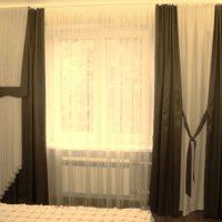 шторы для спальни фото 27