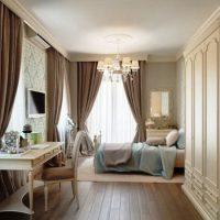 шторы для спальни фото 38