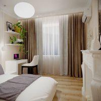 шторы для спальни фото 39