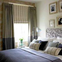 шторы для спальни фото 41