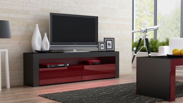 Тумба под телевизор в современном стиле фото