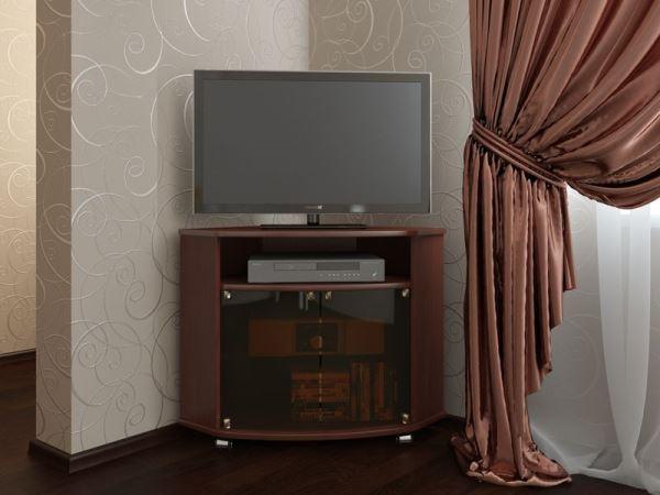 Угловая тумба под телевизор фото