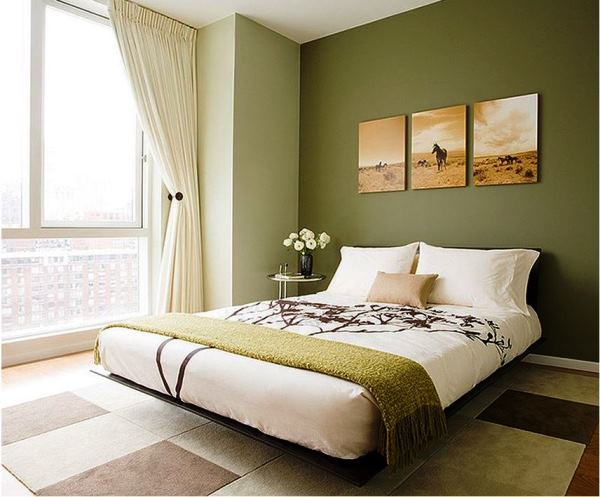 интерьер спальни маленького размера фото
