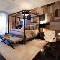дизайн спальни в стиле модерн фото 12