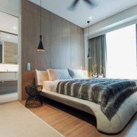дизайн спальни в стиле модерн фото 19