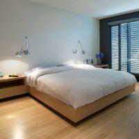 дизайн спальни в стиле модерн фото 26
