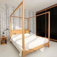 дизайн спальни в стиле модерн фото 35