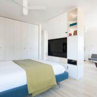 дизайн спальни в стиле модерн фото 37