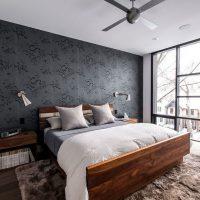 дизайн спальни в стиле модерн фото 4