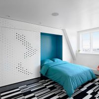 дизайн спальни в стиле модерн фото 57