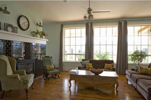 фото комнаты в эко стиле