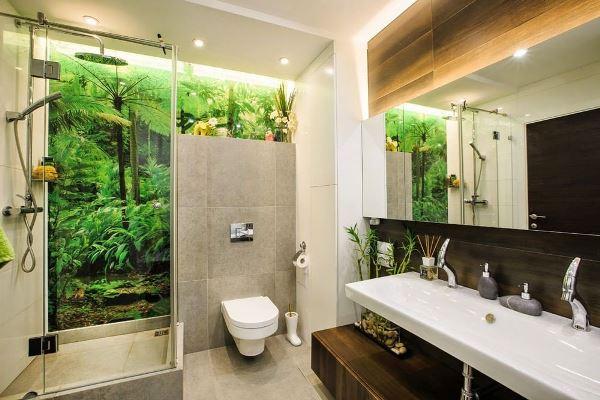 ванна в эко стиле фото