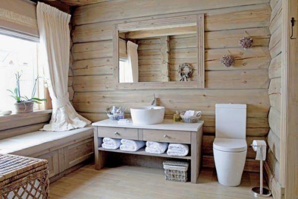 дизайн ванной эконом класса фото стиль эко