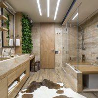 ванные в эко стиле фото 96