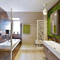ванные в эко стиле фото 98