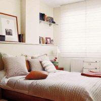 идеи для маленькой спальни фото 38