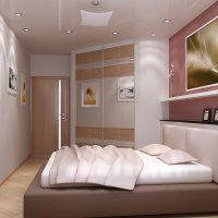 идеи для маленькой спальни фото 48