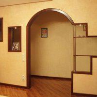 межкомнатные арки в интерьере фото 33