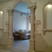 межкомнатные арки в интерьере фото 48