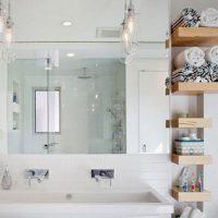 полка в ванную фото 21