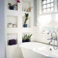 полка в ванную фото 23