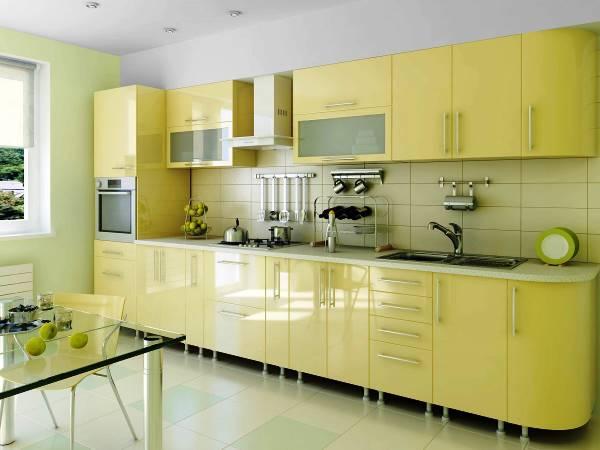кухни прямые фото 10