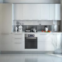 прямая кухня фото 15