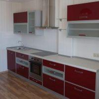 прямая кухня фото 17