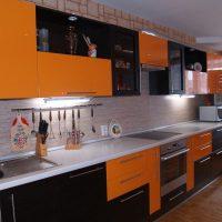 прямая кухня фото 22