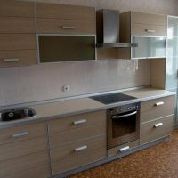 прямая кухня фото 26