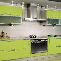прямая кухня фото 31