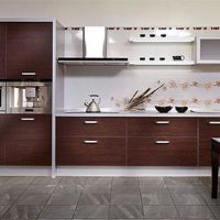 прямая кухня фото 32