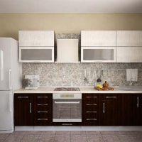 прямая кухня фото 33