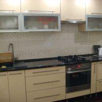 прямая кухня фото 42