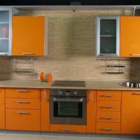 прямая кухня фото 51