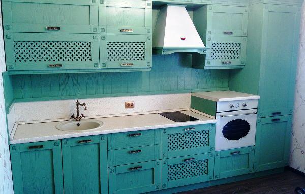 Прямая кухня 9 кв. м дизайн фото