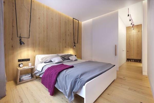 спальня в скандинавском стиле фото 15