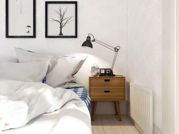 спальня в скандинавском стиле фото 18