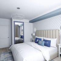 спальня в скандинавском стиле фото 19