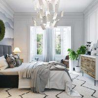 спальня в скандинавском стиле фото 24