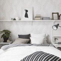 спальня в скандинавском стиле фото 26