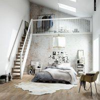 спальня в скандинавском стиле фото 29