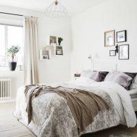 спальня в скандинавском стиле фото 30