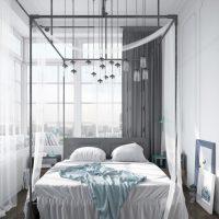 спальня в скандинавском стиле фото 49