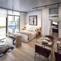 спальня в скандинавском стиле фото 55