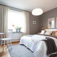 спальня в скандинавском стиле фото 56